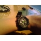 Men's Watch Sports Multi-Function Analog-Digital Dial Water Resistant Cool Watch Unique Watch
