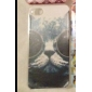 Glasses Cat Plastic Back Case for iPhone 4/4S