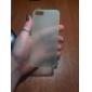 용 아이폰5케이스 울트라 씬 / 반투명 케이스 뒷면 커버 케이스 단색 하드 PC iPhone SE/5s/5