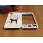 Full Body Case for iPhone 4/4S - Black Cat