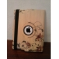 Curving Flower Vine Pattern 360 Degree Rotatable PU Leather Full Body Case with Stand for iPad 2/3/4