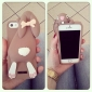 Stereo Rabbit Silicon Case for iPhone 5/5S