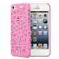 Bird's Nest Design Hollow-out Back Case for iPhone 5/5S(Assorted Color)