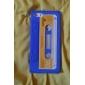 Kasettebånd Design Soft Cover til iPhone 5 (blandede farver)