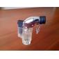 Translucent Butane Jet Lighter (Random Color)