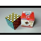 ShengShou DIY 5x5x5 Brain Teaser Magic IQ Cube Complete Kit (Black Base)
