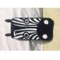 Black Zebra Pattern Soft Case for iPhone 5/5S