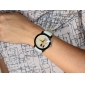 Women's Lovers Pattern PU Leather Band Quartz Wrist Watch (Assorted Colors)
