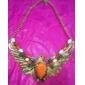 Уникальный орел ожерелье горный хрусталь