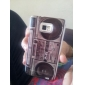 Vintage Tape Recorder Pattern Protective Hard Case for Samsung Galaxy S2 I9100