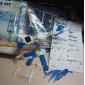 Juguete Robot DIY 6 en 1 de Energía Solar, para Ensamblar