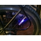 2PCS 5 LED 8 Modes Tyre Wheel American Valve Cap Lights for Car Bike bicycle Motorbicycle Wheel Light Tire Light
