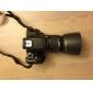 ET-60 Универсальный бленда объектива для камеры (черный)