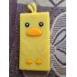 Прекрасный мультфильм Duck дизайн Мягкий чехол для Ipod Nano 7 (разных цветов)