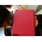 Microgroove padrão de capa de couro PU com suporte para iPhone 4 & o novo iPad e iPad 2 (cores sortidas)