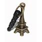3.5mm Bronze Eiffel Tower Pattern Anti-dust Earphone Jack