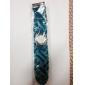 Tissu à quartz analogique montre-bracelet des femmes (couleurs assorties)