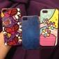 Sydänkuvioinen kova kuori iPhone 5:lle