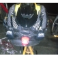 3-Mode 2-LED Bicycle Front Light (2xCR2032, Assortted Colors)