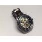 Herrer Legering Analog Mekanisk Armbåndsur 9383 (Sort)