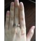 z&x® estilo punky de la vendimia anillo flechas remache plata