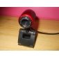 Classic Plug-and-play HD 640x480 0.3 Megapixel USB PC Camera Webcam with Microphone