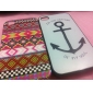 Anchor Pattern Hard Case for iPhone 4/4S