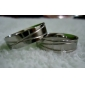 Eruner®Unisex Cross Line Titanium Steel Ring