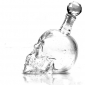 Crystal Skull Head 350ml Vodka Wine Glass Bottle Decanter