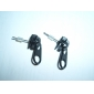 Creative And Fashionable Zipper Earrings