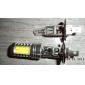 H1 7.5W 600LM 7000-8000K korkea tehoinen valkoinen LED lamppu auton valoihin (DC 12V)
