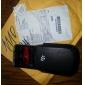 skyddande PU läder för Blackberry 9800 black