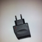 Euro Plug Charger to Car Charger for Samsung Galaxy and Other Cellphones (Micro USB, Black)