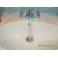 elegante acqua alimentata rubinetto luce della cucina ha portato (plastica, finitura cromata, blu)