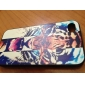 Fierce Tiger Pattern PC Hard Case with Black Frame for iPhone 4/4S