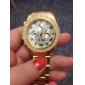 paar diamant geval goud stalen band quartz horloge (verschillende kleuren)