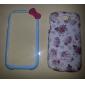 Cartoon Bow Pattern Bumper Frame for Samsung Galaxy S3 i9300
