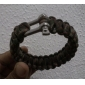 Steel Button Life-saving Bracelet Camouflage Assorted Color