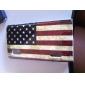Retro US Flag Pattern Hard Case for LG Optimus L5 E612