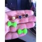 Joyland reine Farbe bowknot Anti-Staub-Kopfhöreranschluss (ramdon Farbe)