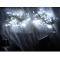 10M 6W 100-LED White Light String Fairy Lamp for Christmas Halloween Festival Decoration (110/220V)