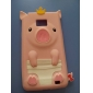 Pig Design Soft Case for Samsung Galaxy S2 I9100 (Assorted Colors)