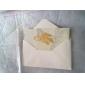 Novelty Maple Leaves Pattern Bookmark (Golden)