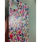 PC Multicolor Geometry Pattern Hard Case for iPhone 5/5S