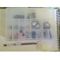 24-Lattice Plastic Jewellery Case Box