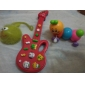 Electric Mini Musical Guitar with 12 Tunes(Powered by 2AA,Assorted Colors)