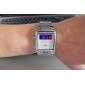 Men's Multi-Function Analog-Digital Dial Steel Band Wrist Watch (Silver)