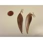 Golden Leaf Metal Earring