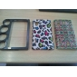 Finger Hole Designed Electroplated PC Hard Case for LG E612 Optimus L5 (Assorted Colors)