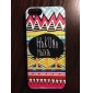 HAKUNA MATATA Coloured Drawing Pattern Black Frame PC Hard Case for iPhone 5/5S